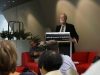 Tom Griffiths addressing the audience at Mike Smith\'s book launch