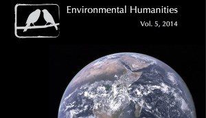 Environmental Humanities vol 5