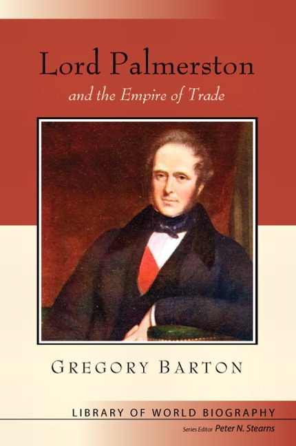 Lord Palmerston and the Empire of Trade book cover