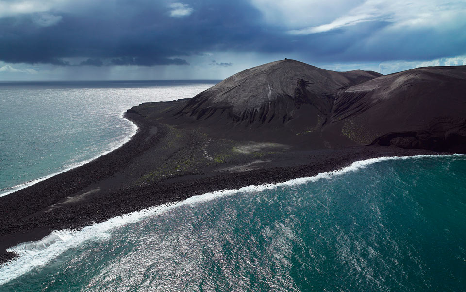 Surtsey Island in 2006.Photo by Arctic Images/Corbis
