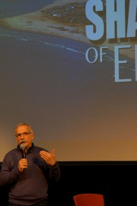 Gregg Mitman in discussing In the Shadow of Ebola at the National Museum of Australia