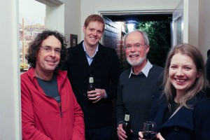 Rob Nugent, Daniel May, Tom Griffiths and Annemarie McLaren