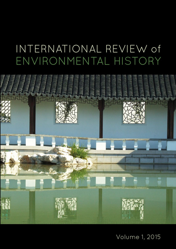 International Review of Environmental History cover